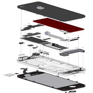 تعمیرات تخصصی همه قطعات و اجزای گوشی های اپل، آیفون، آیپد و مک بوک
